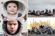 Μητέρα και κόρες κάνουν αναπαράσταση σκηνών από τις φετινές υποψήφιες για Όσκαρ ταινίες