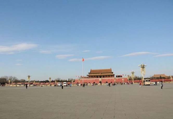 Το Πεκίνο αυτές τις μέρες μοιάζει με πόλη φάντασμα (1)