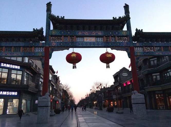 Το Πεκίνο αυτές τις μέρες μοιάζει με πόλη φάντασμα (4)