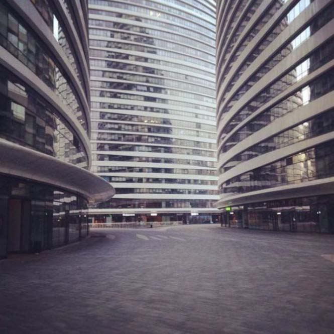 Το Πεκίνο αυτές τις μέρες μοιάζει με πόλη φάντασμα (5)