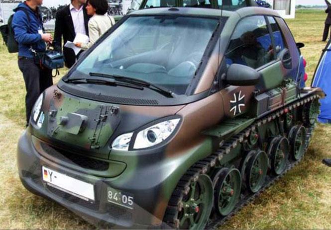 Όταν το Smart... πάει στον πόλεμο! | Φωτογραφία της ημέρας