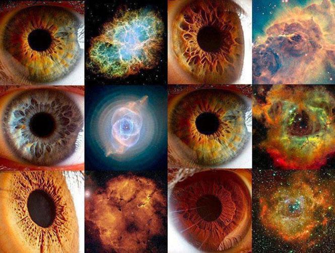 Ο «μικρός γαλαξίας» που λέγεται ανθρώπινο μάτι | Φωτογραφία της ημέρας