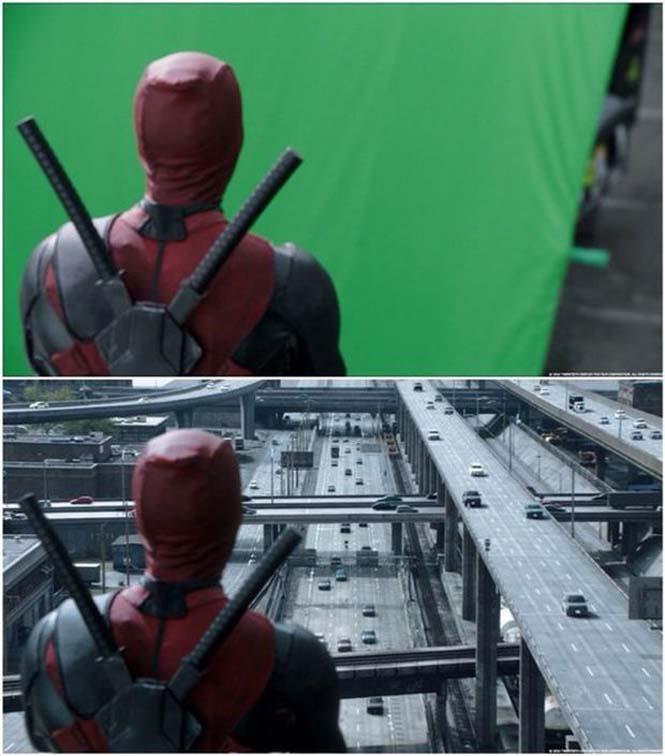 Πριν και μετά τα ειδικά εφέ του «Deadpool» (6)