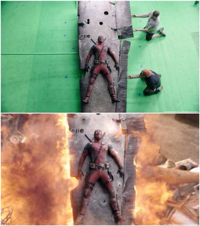 Πριν και μετά τα ειδικά εφέ του «Deadpool» (7)