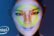 Ψηφιακή τέχνη στο πρόσωπο μιας γυναίκας