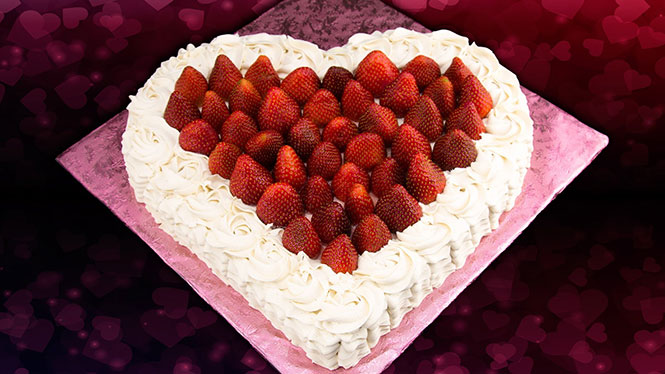 Πως να φτιάξεις τούρτα σε σχήμα καρδιάς