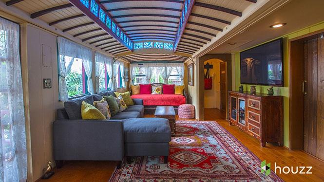 Σπίτι από δυο βαγόνια του τραμ