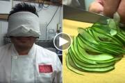 Δείτε τι κάνει αυτός ο Master Sushi Chef με τα μάτια δεμένα
