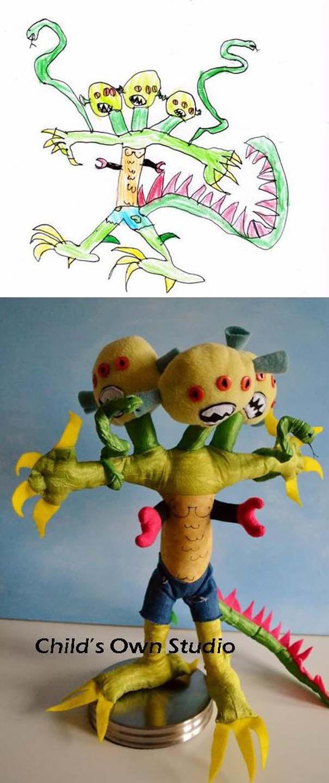 Αν οι παιδικές ζωγραφιές μετατρέπονταν σε παιχνίδια #6 (14)
