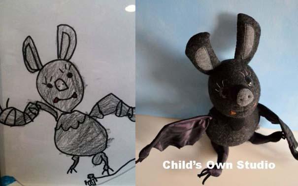 Αν οι παιδικές ζωγραφιές μετατρέπονταν σε παιχνίδια #6 (2)