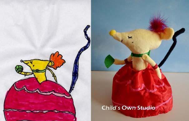 Αν οι παιδικές ζωγραφιές μετατρέπονταν σε παιχνίδια #6 (6)