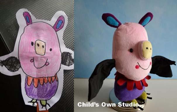 Αν οι παιδικές ζωγραφιές μετατρέπονταν σε παιχνίδια #6 (7)