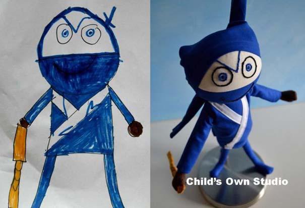 Αν οι παιδικές ζωγραφιές μετατρέπονταν σε παιχνίδια #6 (8)
