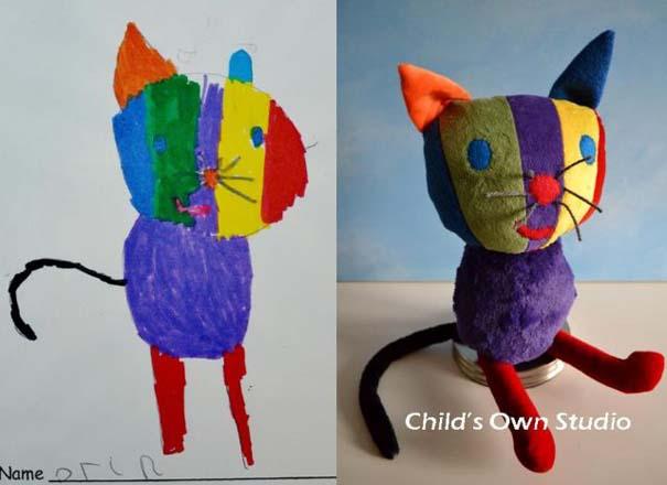 Αν οι παιδικές ζωγραφιές μετατρέπονταν σε παιχνίδια #6 (10)