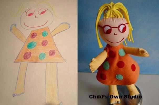 Αν οι παιδικές ζωγραφιές μετατρέπονταν σε παιχνίδια #6 (11)