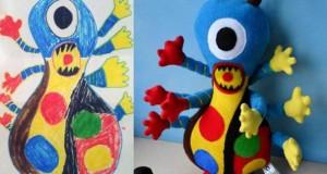 Αν οι παιδικές ζωγραφιές μετατρέπονταν σε παιχνίδια #6