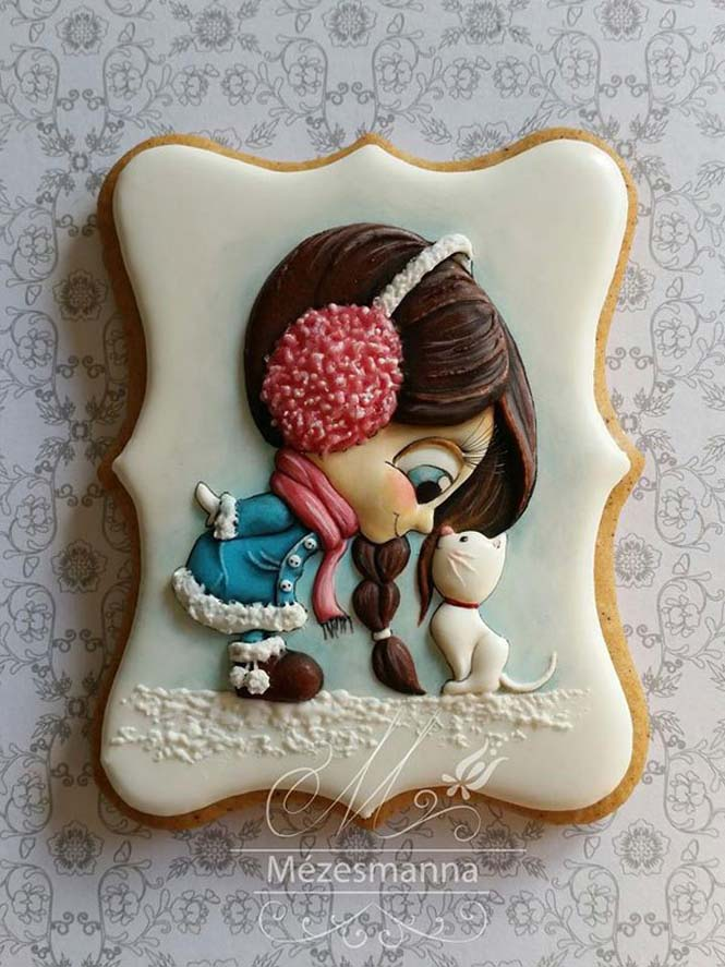 Απίστευτη τέχνη με μπισκότα (1)