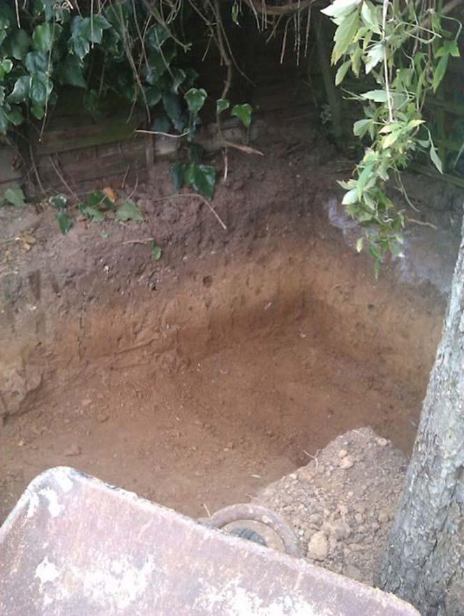 Είναι απίστευτο το τι έφτιαξε αυτός ο άνδρας στην αυλή του (2)