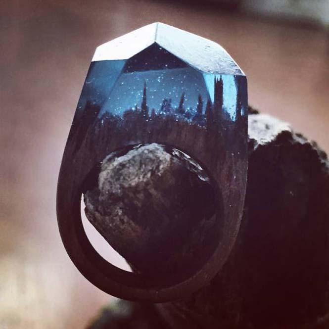 Εκπληκτικό ξύλινο δαχτυλίδι (3)