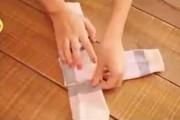 Εναλλακτικός τρόπος για να διπλώνετε τις κάλτσες