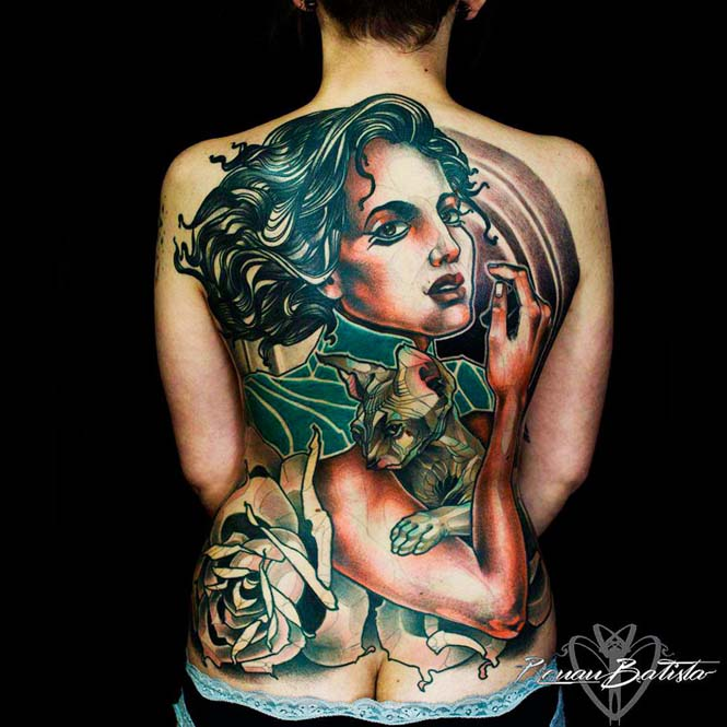 Εντυπωσιακά τατουάζ από τον Renan Batista (1)