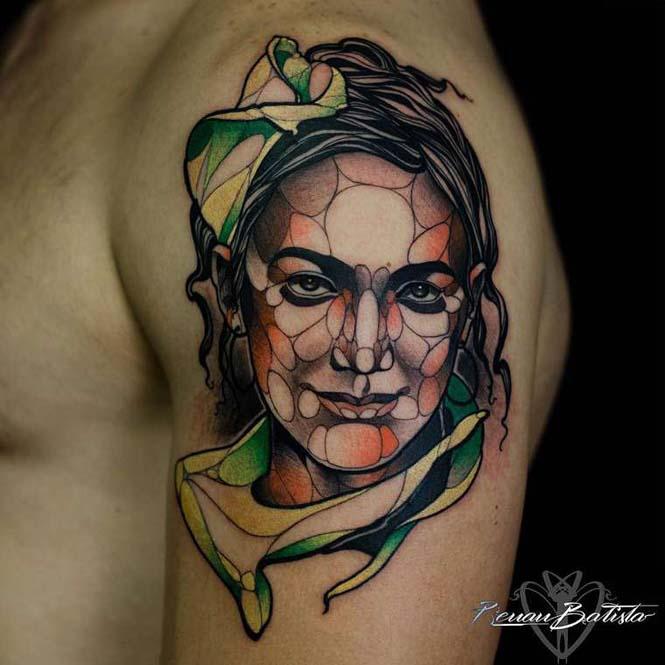 Εντυπωσιακά τατουάζ από τον Renan Batista (2)