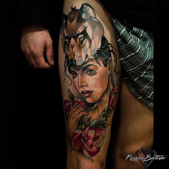 Εντυπωσιακά τατουάζ από τον Renan Batista (3)