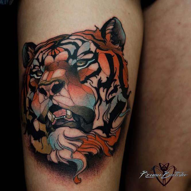 Εντυπωσιακά τατουάζ από τον Renan Batista (8)