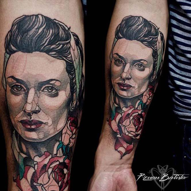 Εντυπωσιακά τατουάζ από τον Renan Batista (9)