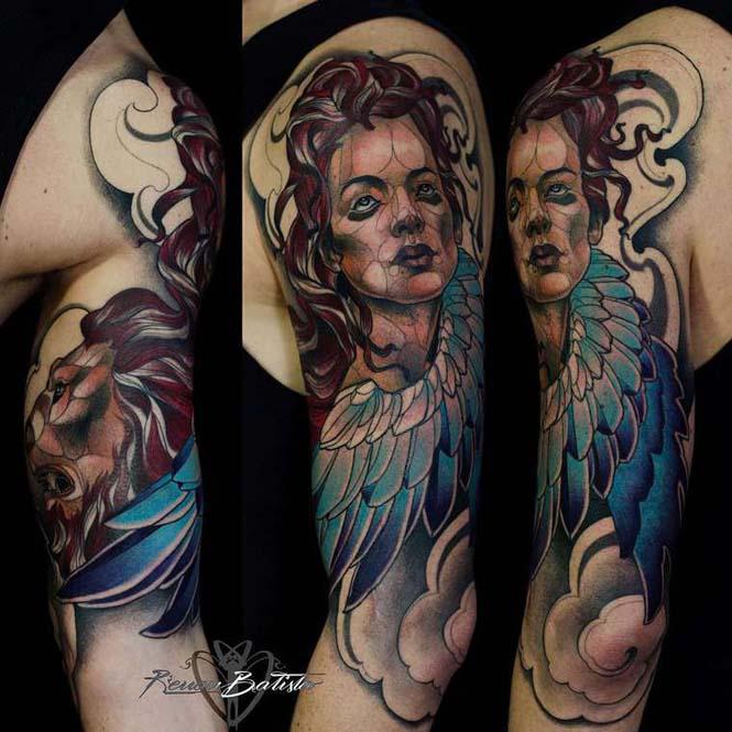Εντυπωσιακά τατουάζ από τον Renan Batista (13)