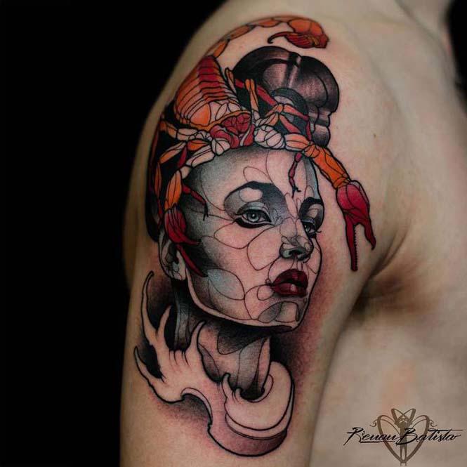 Εντυπωσιακά τατουάζ από τον Renan Batista (14)