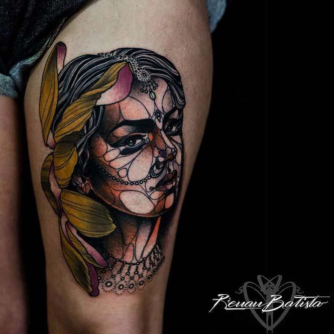 Εντυπωσιακά τατουάζ από τον Renan Batista (18)