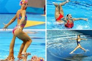 13 φωτογραφίες συγχρονισμένης κολύμβησης που τραβήχτηκαν την κατάλληλη στιγμή
