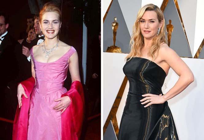 Διάσημοι ηθοποιοί στην πρώτη και την πιο πρόσφατη εμφάνιση τους στα Βραβεία Όσκαρ (2)