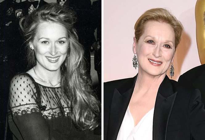 Διάσημοι ηθοποιοί στην πρώτη και την πιο πρόσφατη εμφάνιση τους στα Βραβεία Όσκαρ (4)