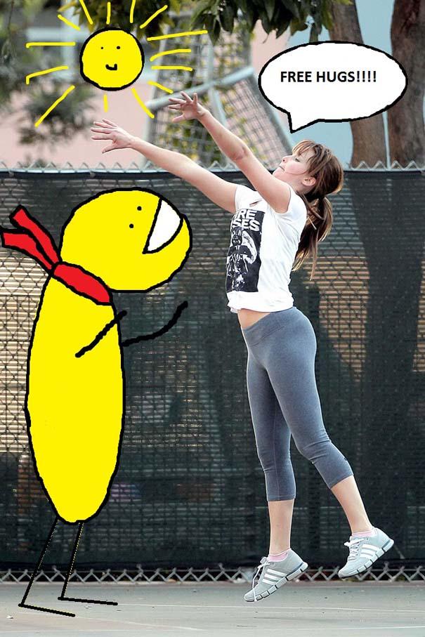 Η Jennifer Lawrence παίζει μπάσκετ και οι χρήστες του Photoshop ξεσαλώνουν (21)
