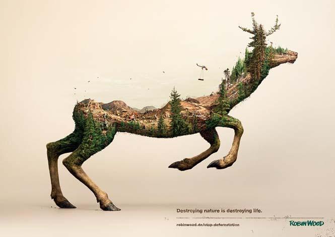 Καταστρέφοντας την φύση: Μια καμπάνια ευαισθητοποίησης με εικόνες διπλής έκθεσης (3)