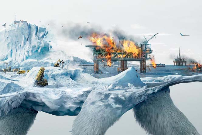 Καταστρέφοντας την φύση: Μια καμπάνια ευαισθητοποίησης με εικόνες διπλής έκθεσης (5)