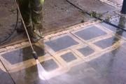 Καθαρισμός με πιεστικό μηχάνημα νερού