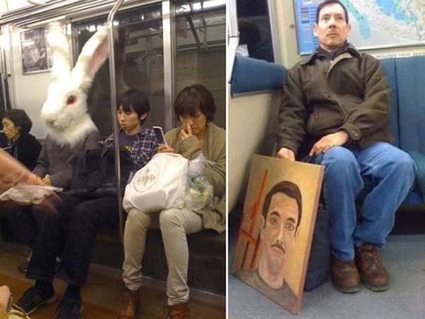 Παράξενες και κωμικοτραγικές φωτογραφίες στα μέσα μεταφοράς #12 (10)