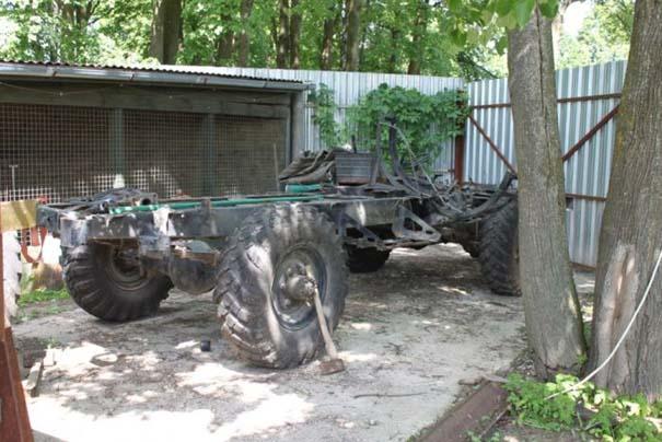 Μετατρέποντας μια Mercedes σε off-road όχημα (2)