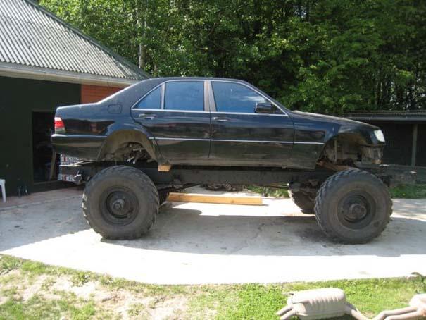 Μετατρέποντας μια Mercedes σε off-road όχημα (4)