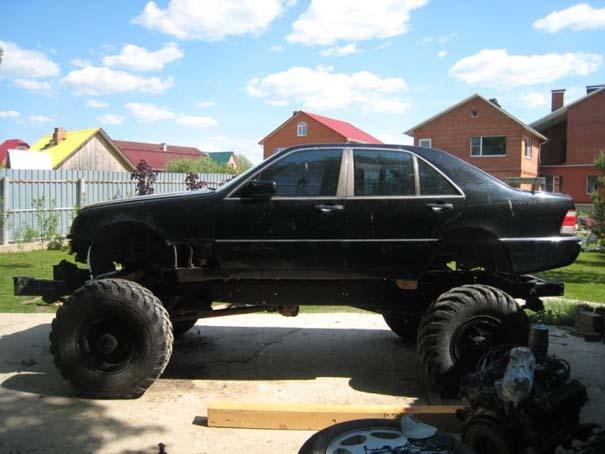 Μετατρέποντας μια Mercedes σε off-road όχημα (5)