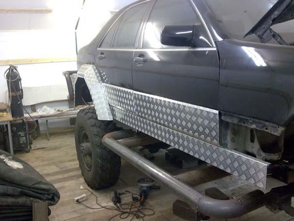 Μετατρέποντας μια Mercedes σε off-road όχημα (16)