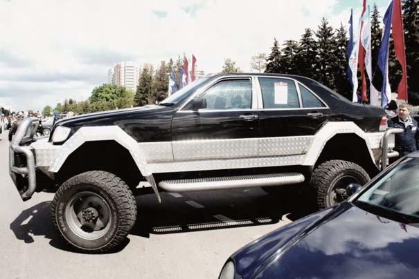 Μετατρέποντας μια Mercedes σε off-road όχημα (21)