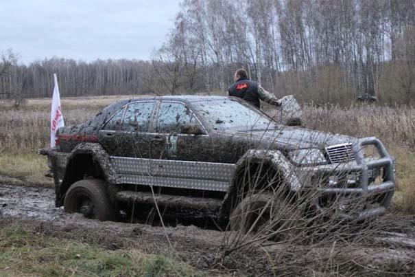 Μετατρέποντας μια Mercedes σε off-road όχημα (25)