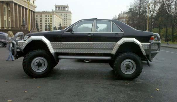 Μετατρέποντας μια Mercedes σε off-road όχημα (29)