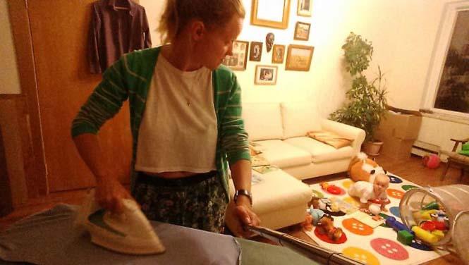 Νεαρή μητέρα καταγράφει την καθημερινότητα της με ένα selfie stick (22)