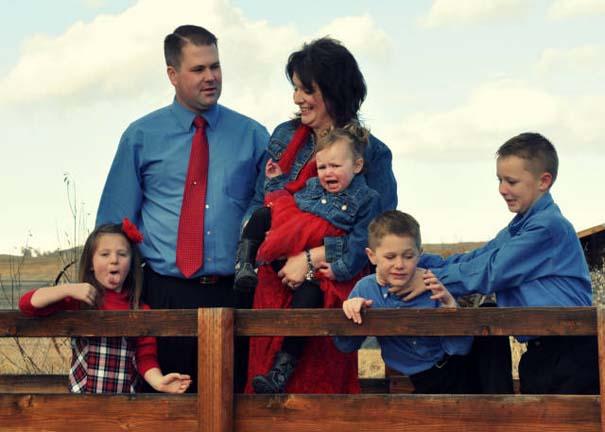 Παιδιά που κατέστρεψαν την οικογενειακή φωτογραφία (1)
