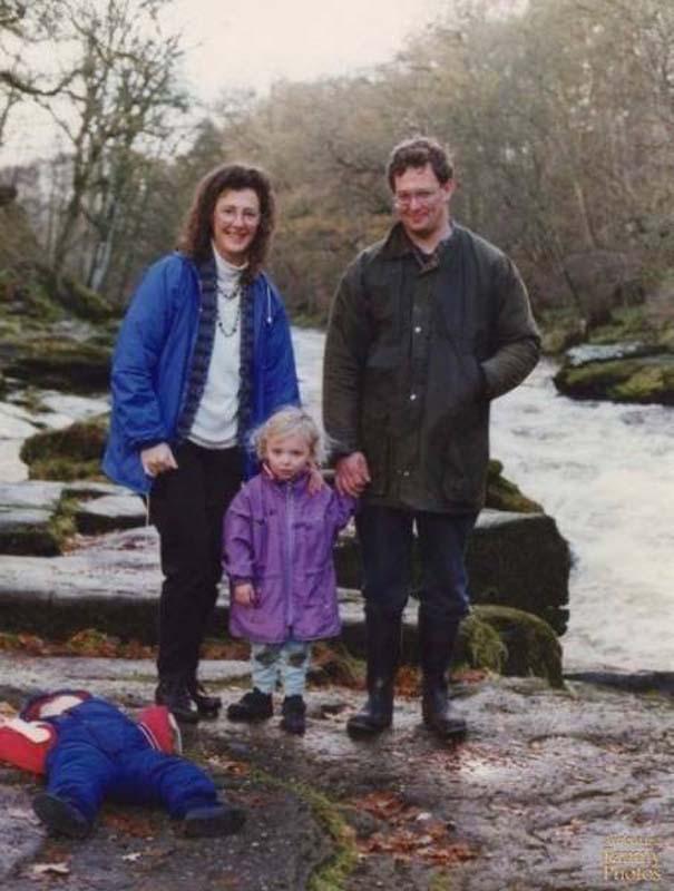 Παιδιά που κατέστρεψαν την οικογενειακή φωτογραφία (2)